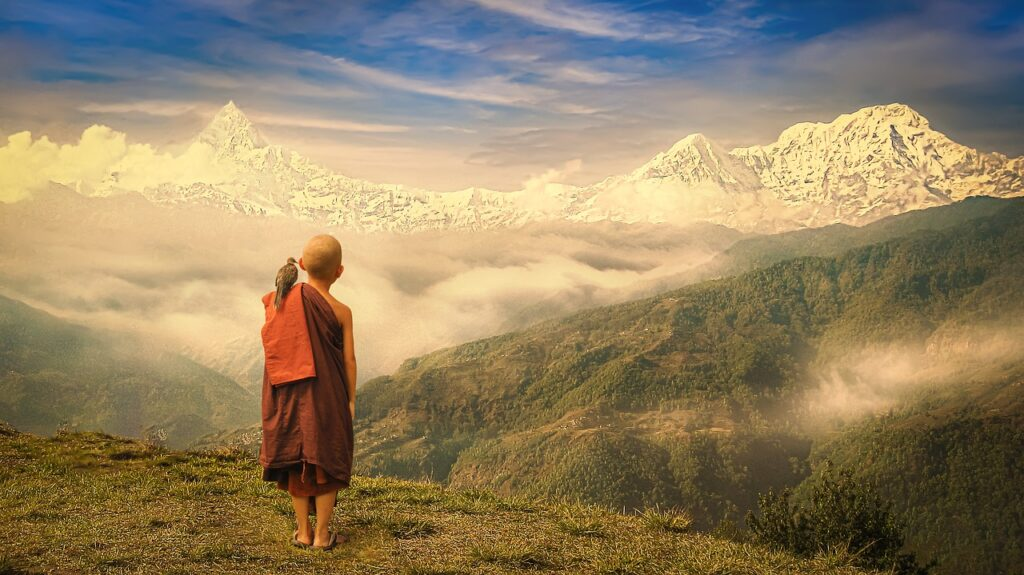 Monk Mountains Child Young  - truthseeker08 / Pixabay