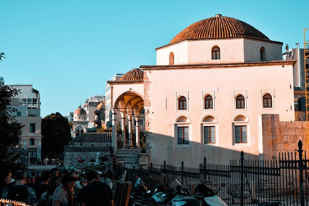 Monument Building Temple Athens  - GeriArt / Pixabay