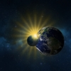 Moon Earth Eclipse Sun Space  - ParallelVision / Pixabay