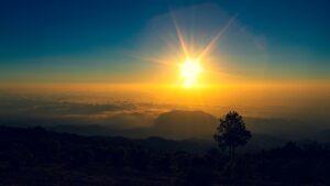 Mountain Clouds Sunrise Sun  - jkdberna / Pixabay
