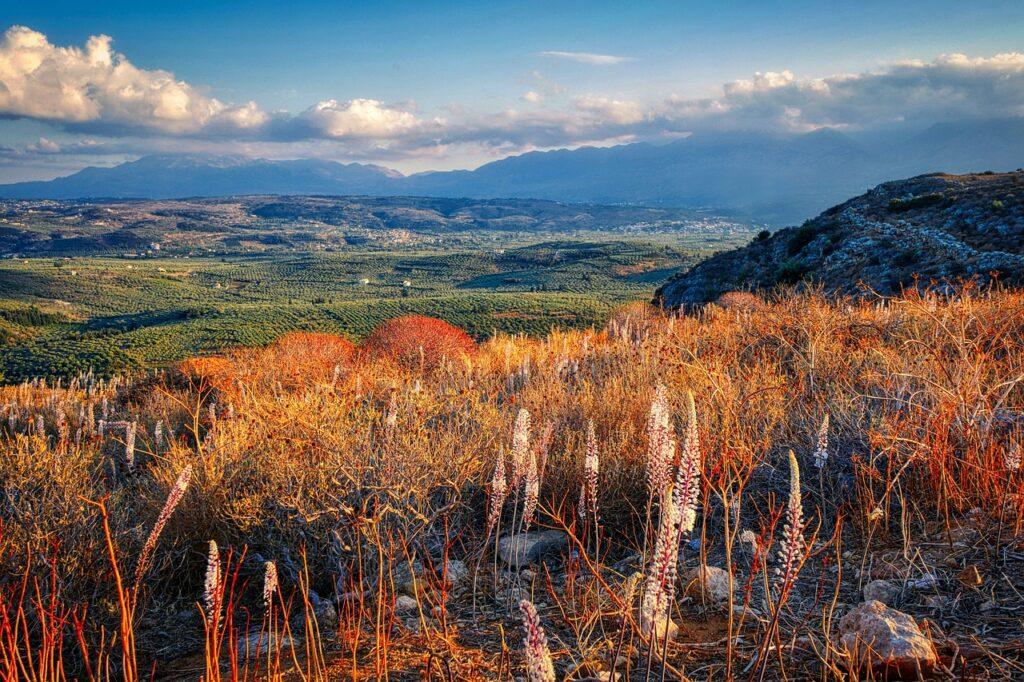 Mountains Landscape Valley Crete  - fietzfotos / Pixabay