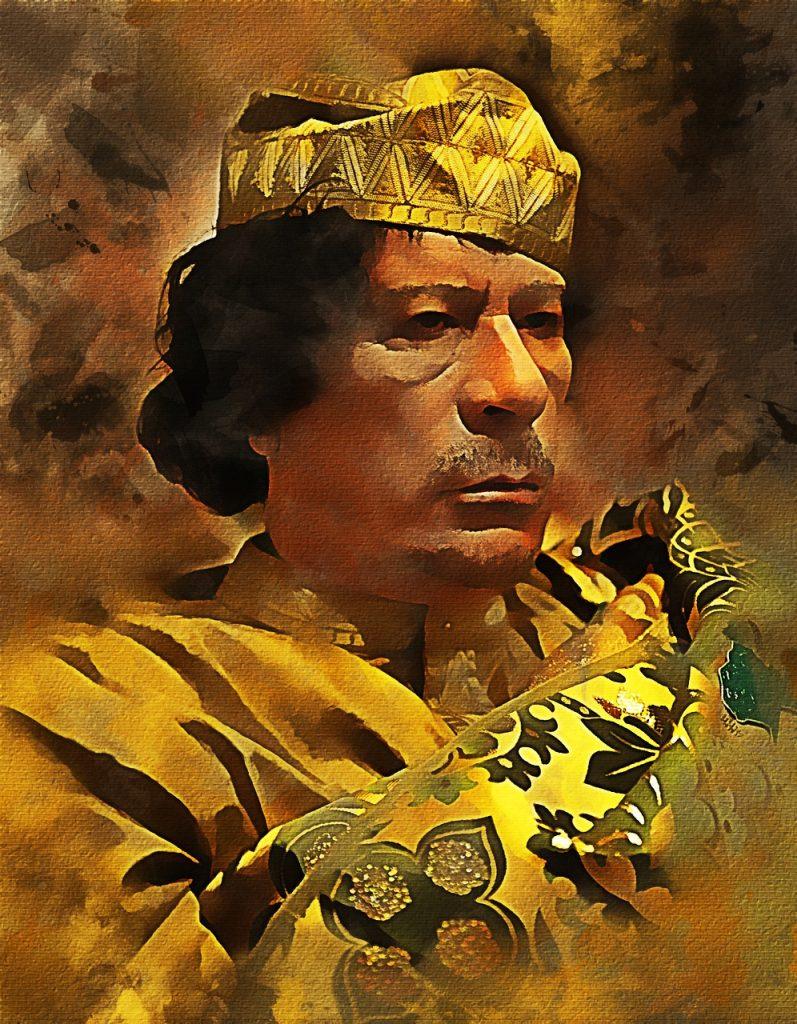 Muammar Gaddafi Policies Libya  - azazelok / Pixabay