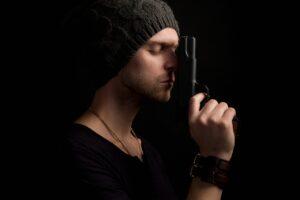 Mysterious Gangster Gun Mafia Spy  - Sammy-Williams / Pixabay