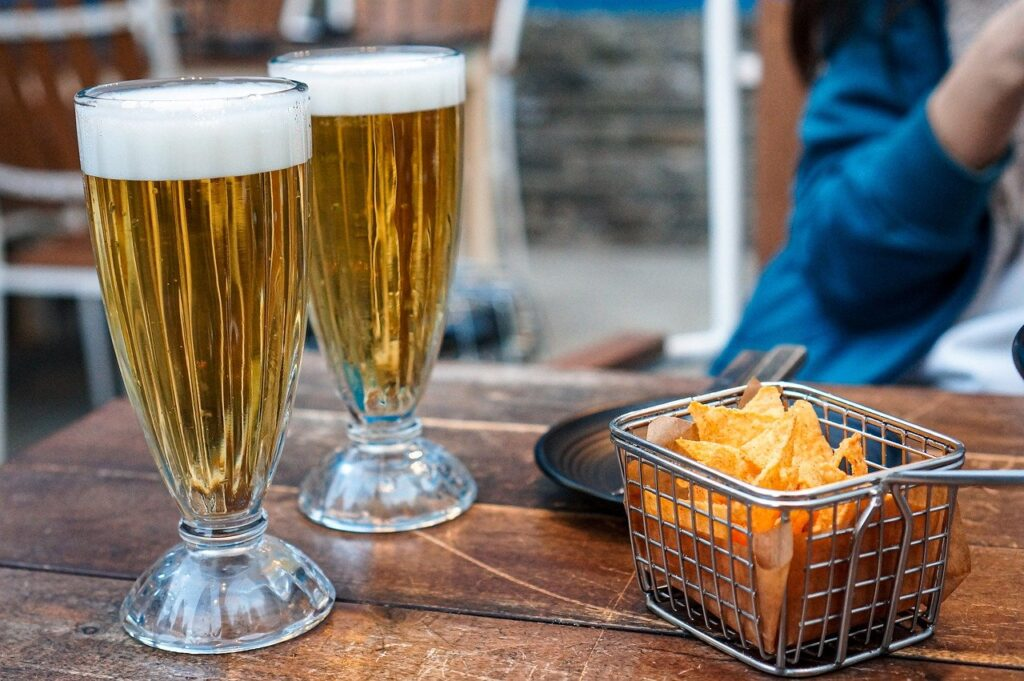 Nachos Draft Beer Beer Pub Bar  - juno1412 / Pixabay