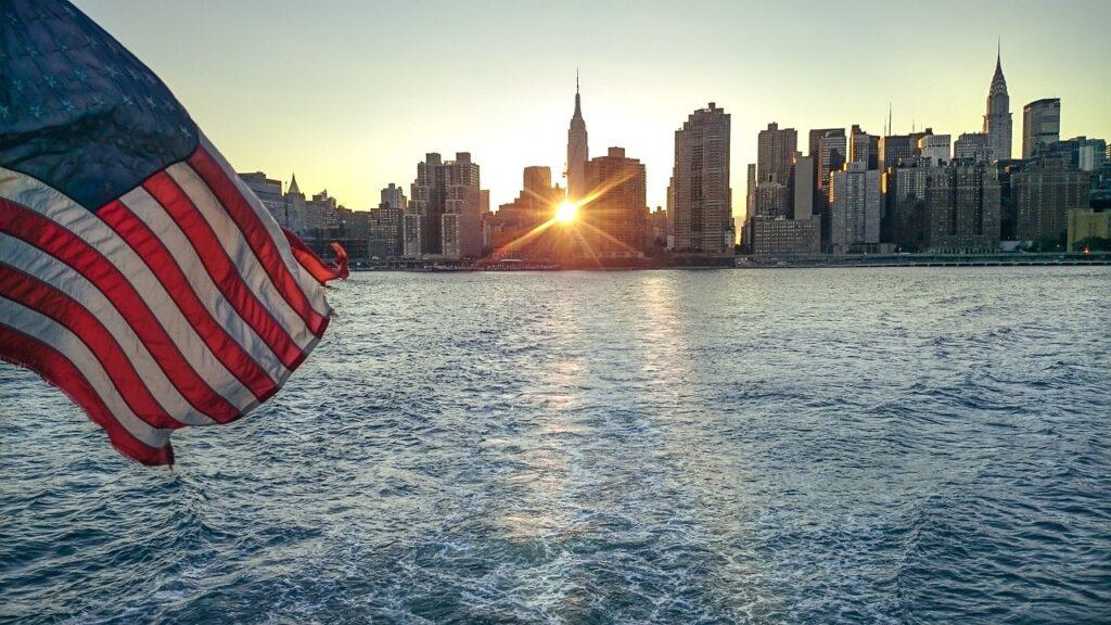 New York Flag Manhattan Usa  - Designmodul / Pixabay