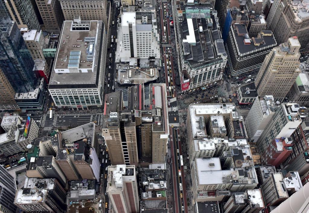 New York Manhattan Usa Skyscrapers  - tommy4gsus / Pixabay