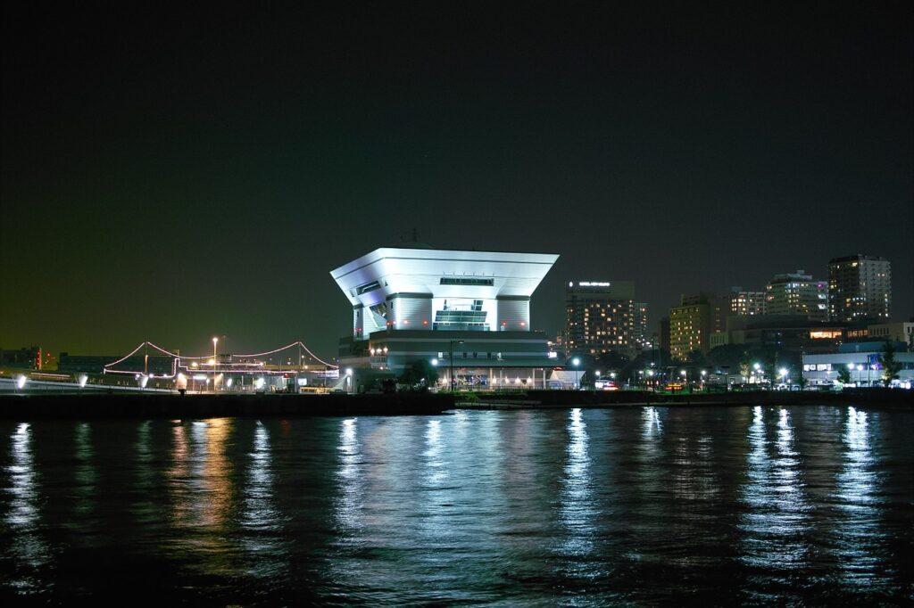 Night View Port Yokohama Pier  - michio / Pixabay