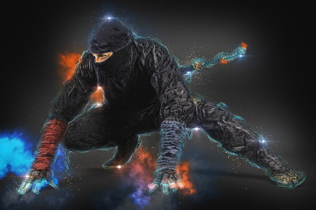 Ninja Man Male Human Person  - ArtTower / Pixabay