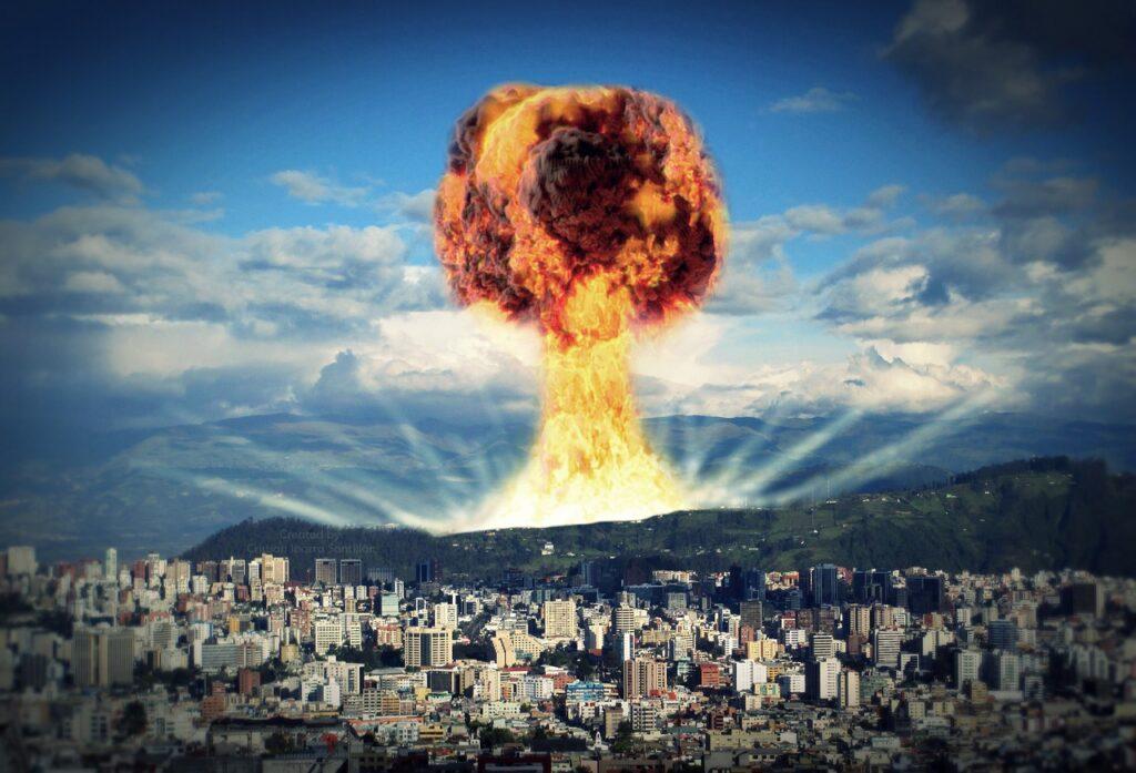 Nuclear Nuclear Explosion Apocalypse  - CristianIS / Pixabay