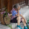Old Woman Tired Baskets Rest  - AmberShadow / Pixabay