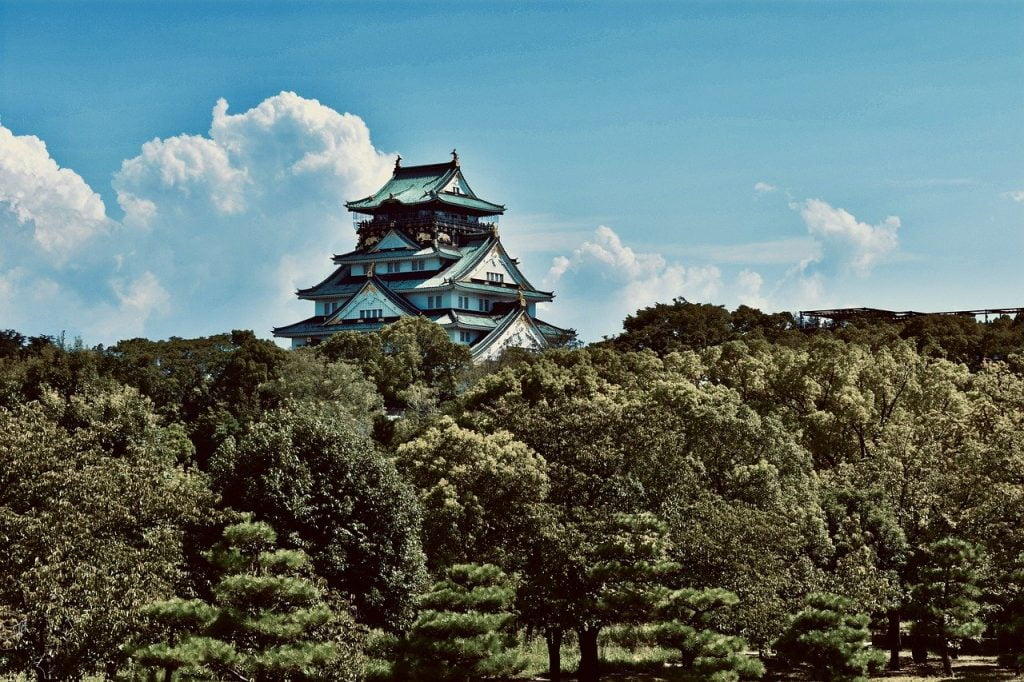 Osaka Castle Osaka Japan Castle  - konkarampelas / Pixabay