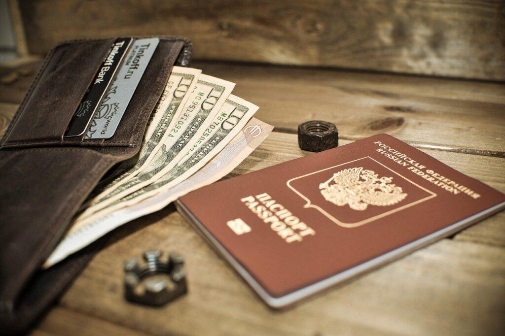Passport Wallet Money Finances  - Chebanoo_Natasha / Pixabay