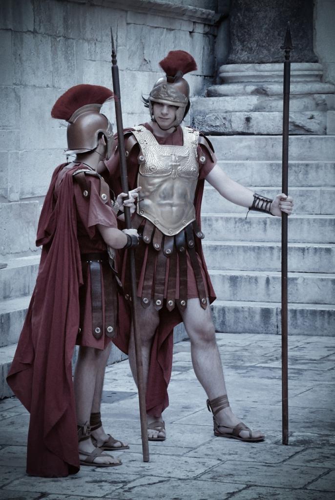 Persons Romans Warrior History  - Kreidt / Pixabay