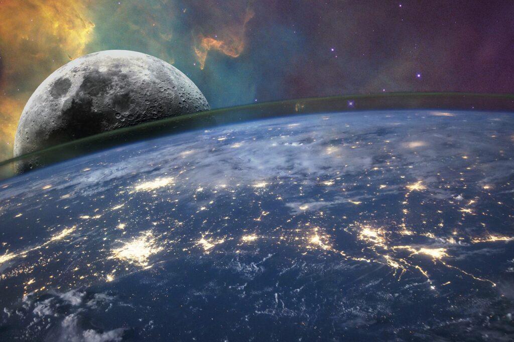 Planet Moon Space Earth Atmosphere  - elbakan128 / Pixabay