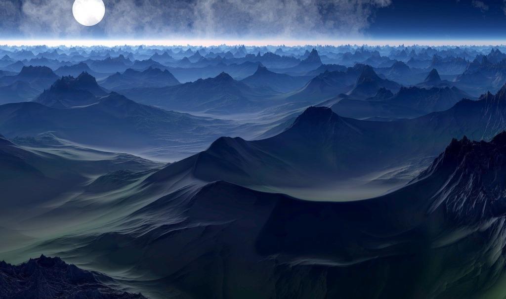 Planet Sience Fiction Fantasy World  - JCK5D / Pixabay