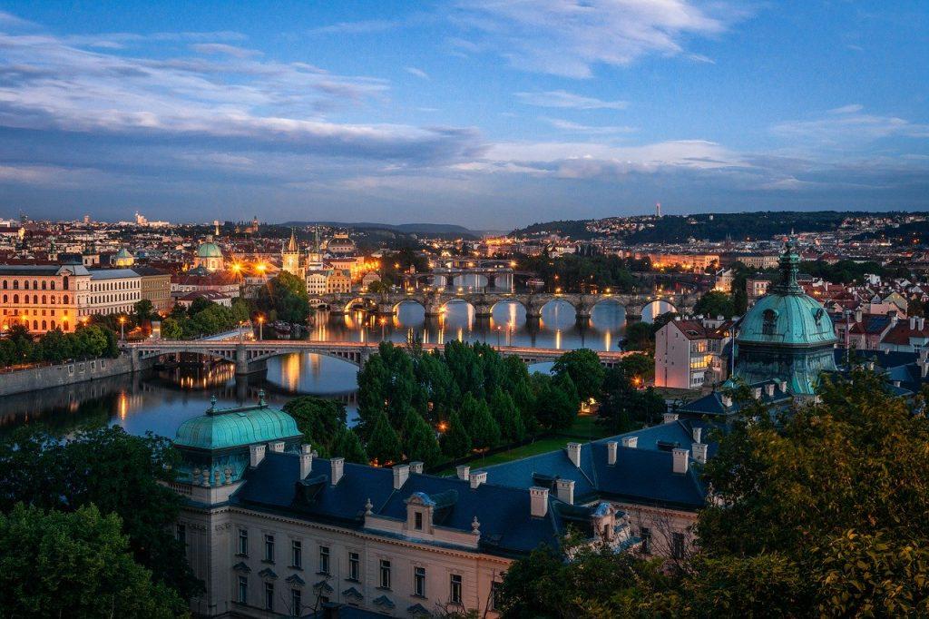 Prague Cityscape Bridges  - d_poltoradnev / Pixabay
