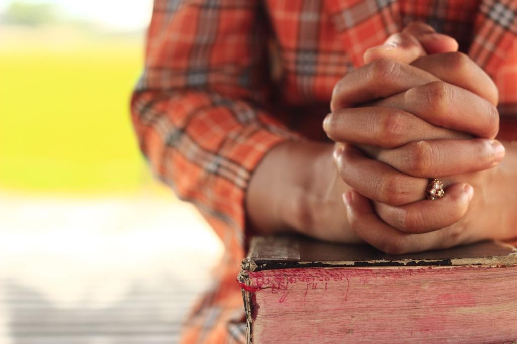 Praying Hands Bible Faith Pray  - doungtepro / Pixabay