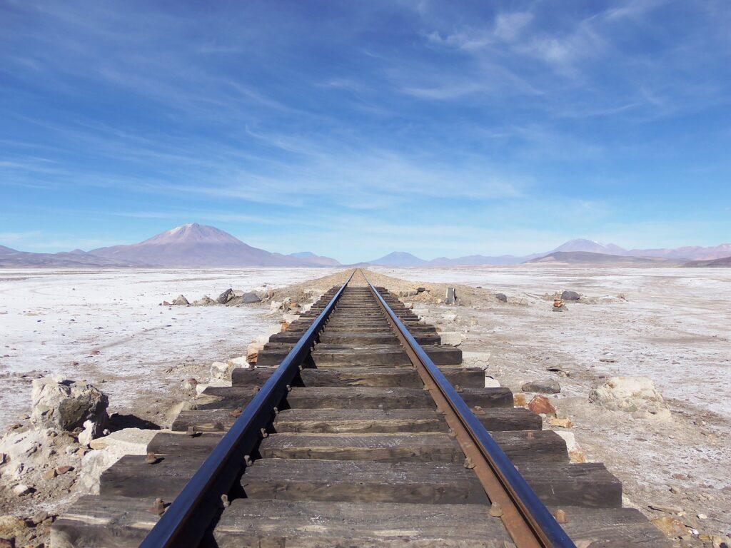 Railroad Desert Landscape Rail  - anajonck / Pixabay