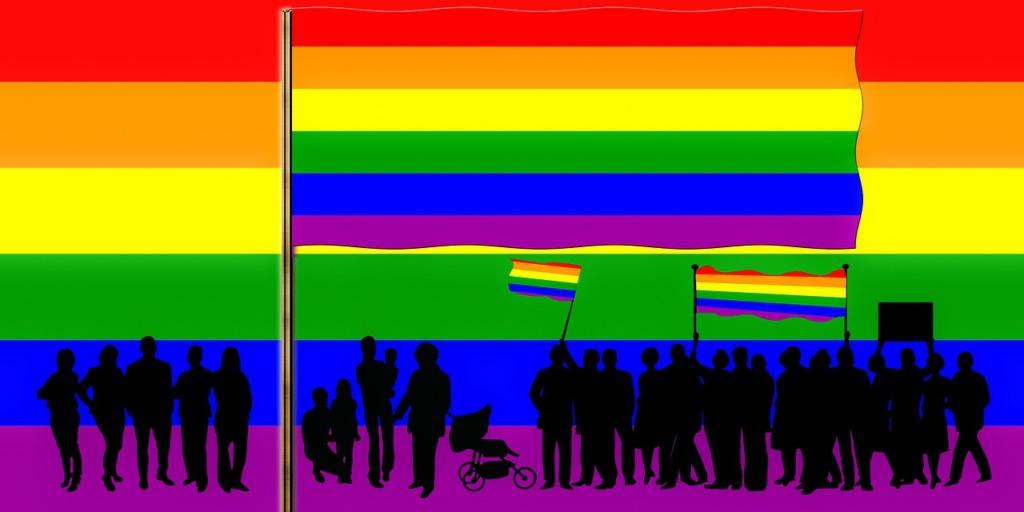 Rainbow Lgbtq Pride Lgbt Pride  - blende12 / Pixabay