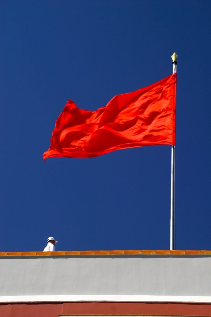 Red Flag Socialism Flagpole  - Peggy_Marco / Pixabay