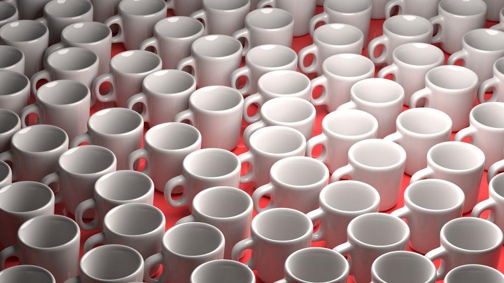 Rendering D Render Set Cups Cup  - Mahmoud-Ahmed / Pixabay