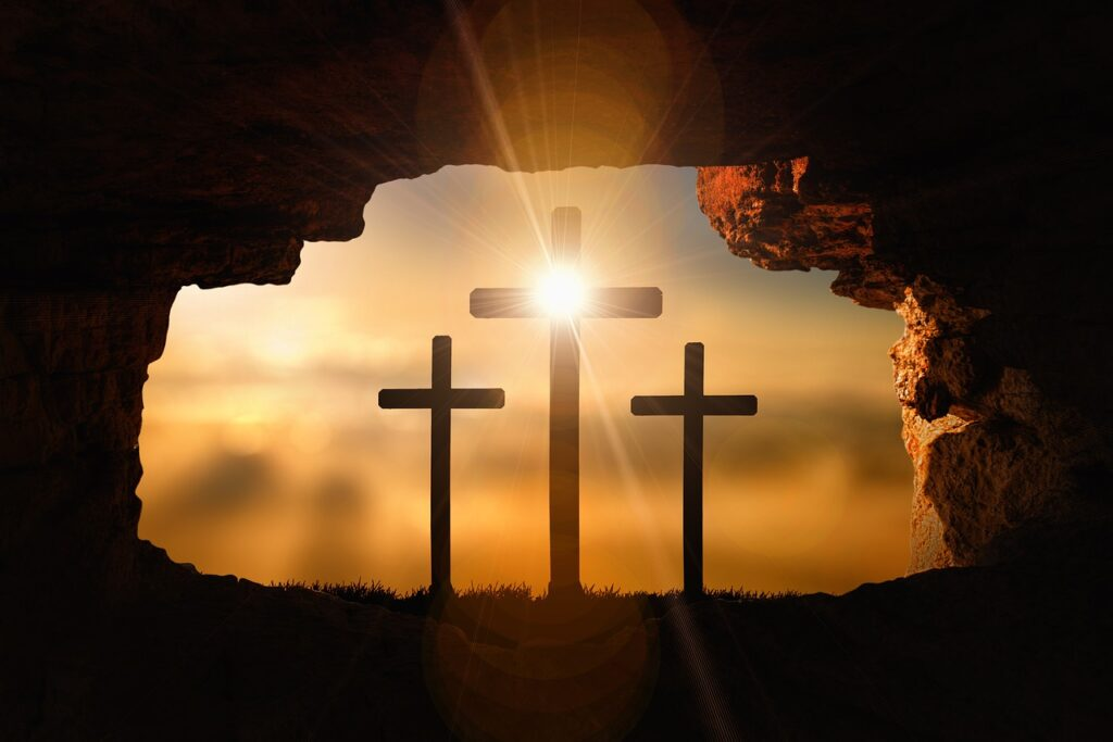 Resurrection Crosses Crucifixion  - geralt / Pixabay