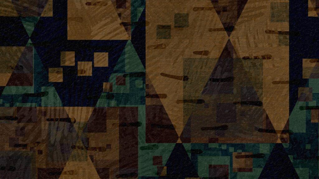 Rhombus Mosaic Wall Art Artwork  - chenspec / Pixabay