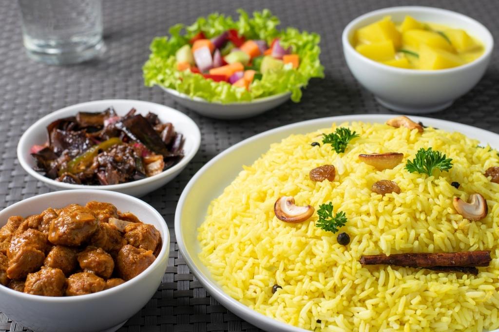 Rice Meal Dish Asian Cuisine Food  - KavindaF / Pixabay