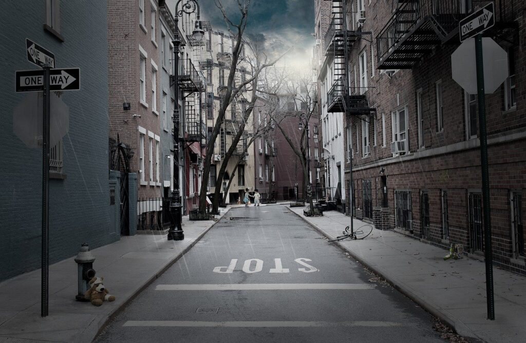 Road One Way Rain Street  - kinkate / Pixabay