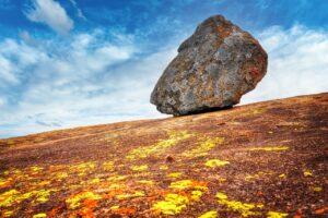 Rock Granite Rocky Mountain Sky  - fietzfotos / Pixabay