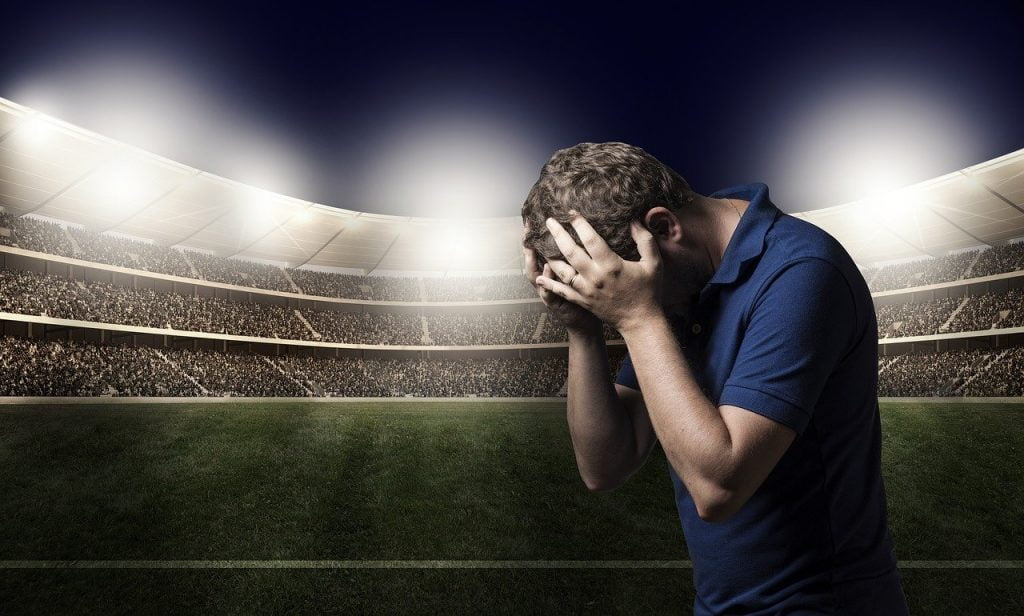 Sadness Defeat Loss Football Sport  - Fotorech / Pixabay
