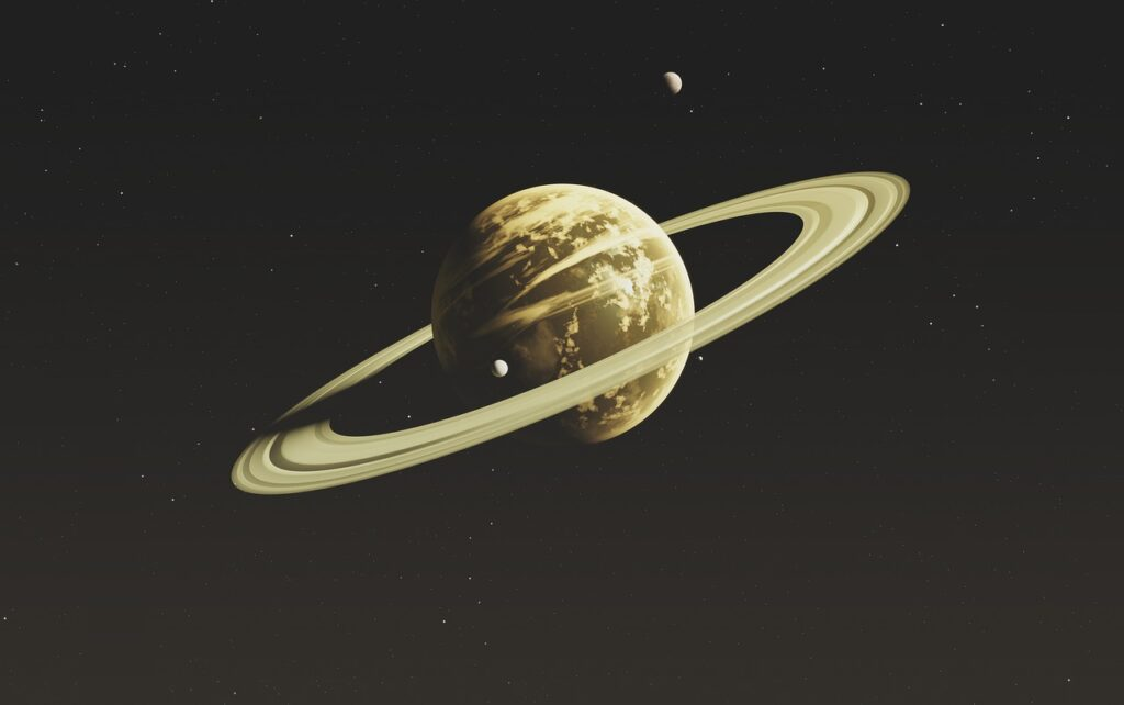 Saturn Planet Space Celestial Body  - 95C / Pixabay