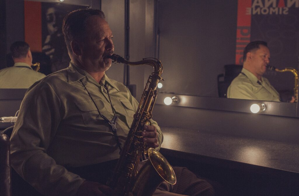 Saxophone Musician Jazz Music  - AlexJive / Pixabay