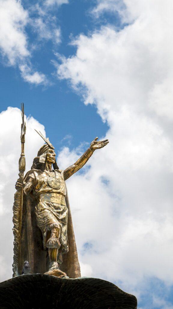 Sculpture Statue Inca Machu Picchu  - dzenteno066 / Pixabay