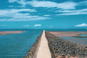 Sea Ocean Breakwater Horizon Coast  - travelsourced / Pixabay
