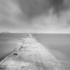 Sea Path Fog Concrete Coast Ocean  - 강춘성 / Pixabay