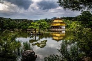 Shrine Temple Lake Crane Japan  - GregPoulsen / Pixabay
