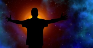 Silhouette Person Stars Universe  - geralt / Pixabay