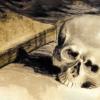 Skull Book Candle Vintage Drawing  - squarefrog / Pixabay