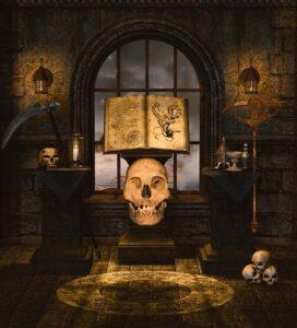 Skull Crossbones Bones Creepy  - 1tamara2 / Pixabay