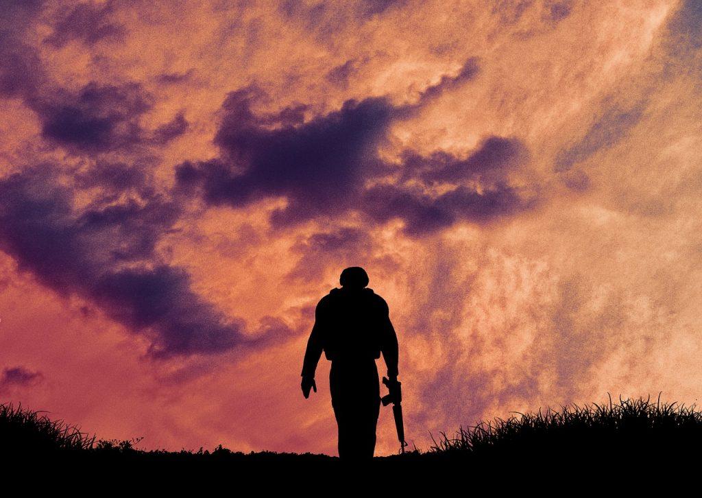 Soldier Silhouette Military Army  - AlemCoksa / Pixabay