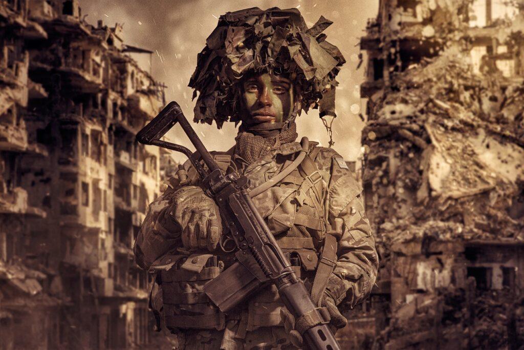 Soldier War Army Military Warrior  - alejandroespeche / Pixabay