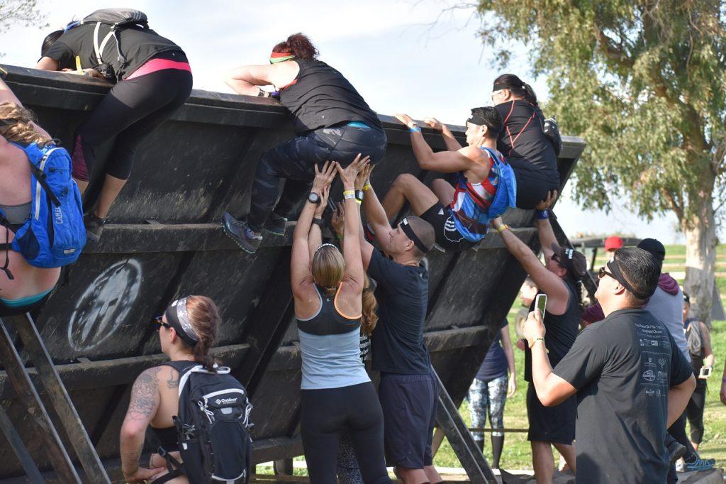 Spartan Teamwork Fitness Challenge  - Queven / Pixabay