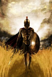 Spartan Warrior Shield Armor  - dejankrivokapic / Pixabay