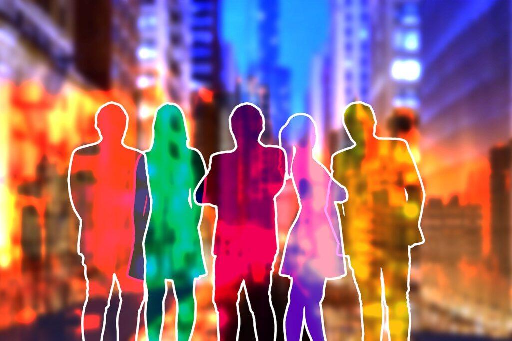 Staff Team Silhouettes Group City  - geralt / Pixabay