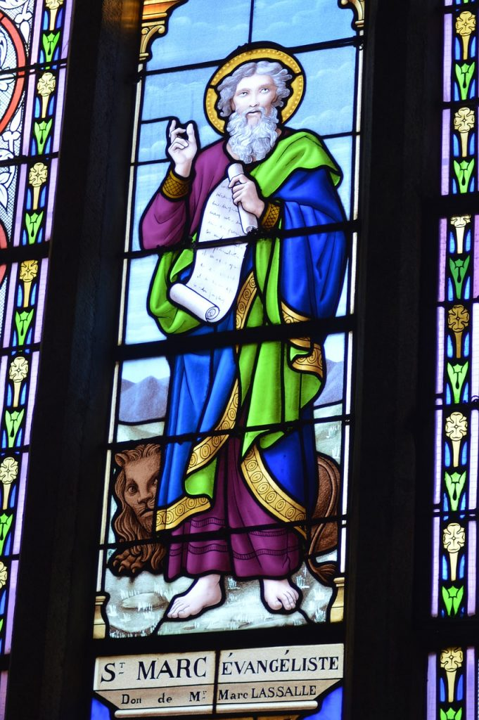 Stained Glass Colorful Church Saint  - dodo71 / Pixabay