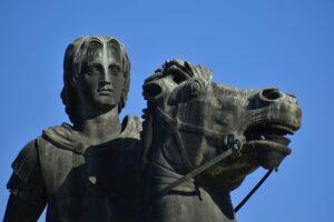 Statue Sculpture Sky Horse Rider  - papazachariasa / Pixabay