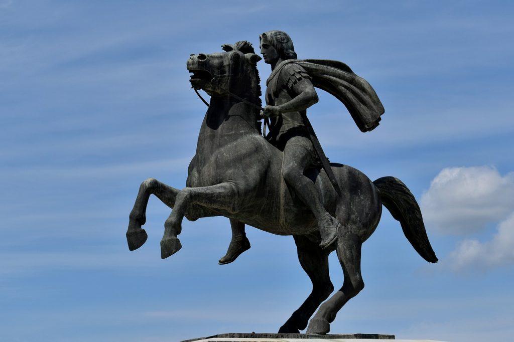 Statue Sky Sculpture Horse Rider  - papazachariasa / Pixabay