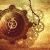 Steampunk Clock Gears Chains  - Darkmoon_Art / Pixabay