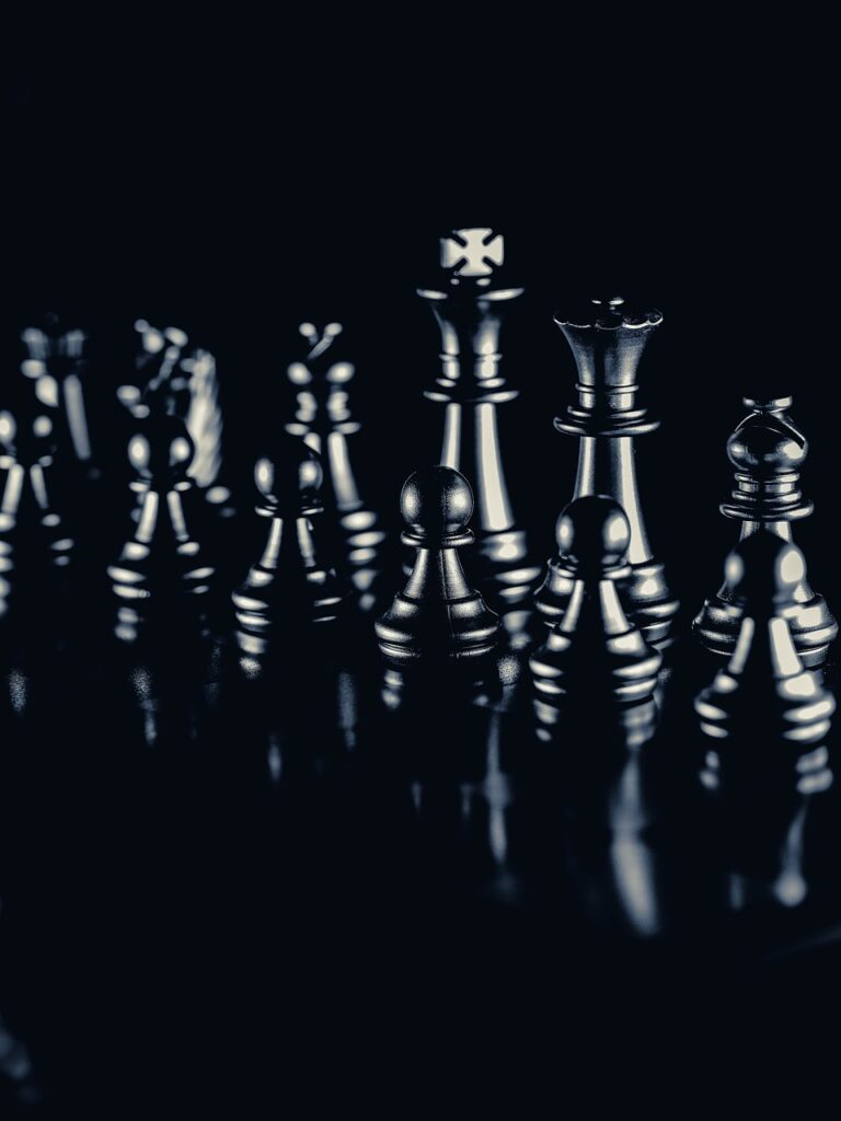 Strategy Chess Game Chess Pieces  - Rudonni / Pixabay